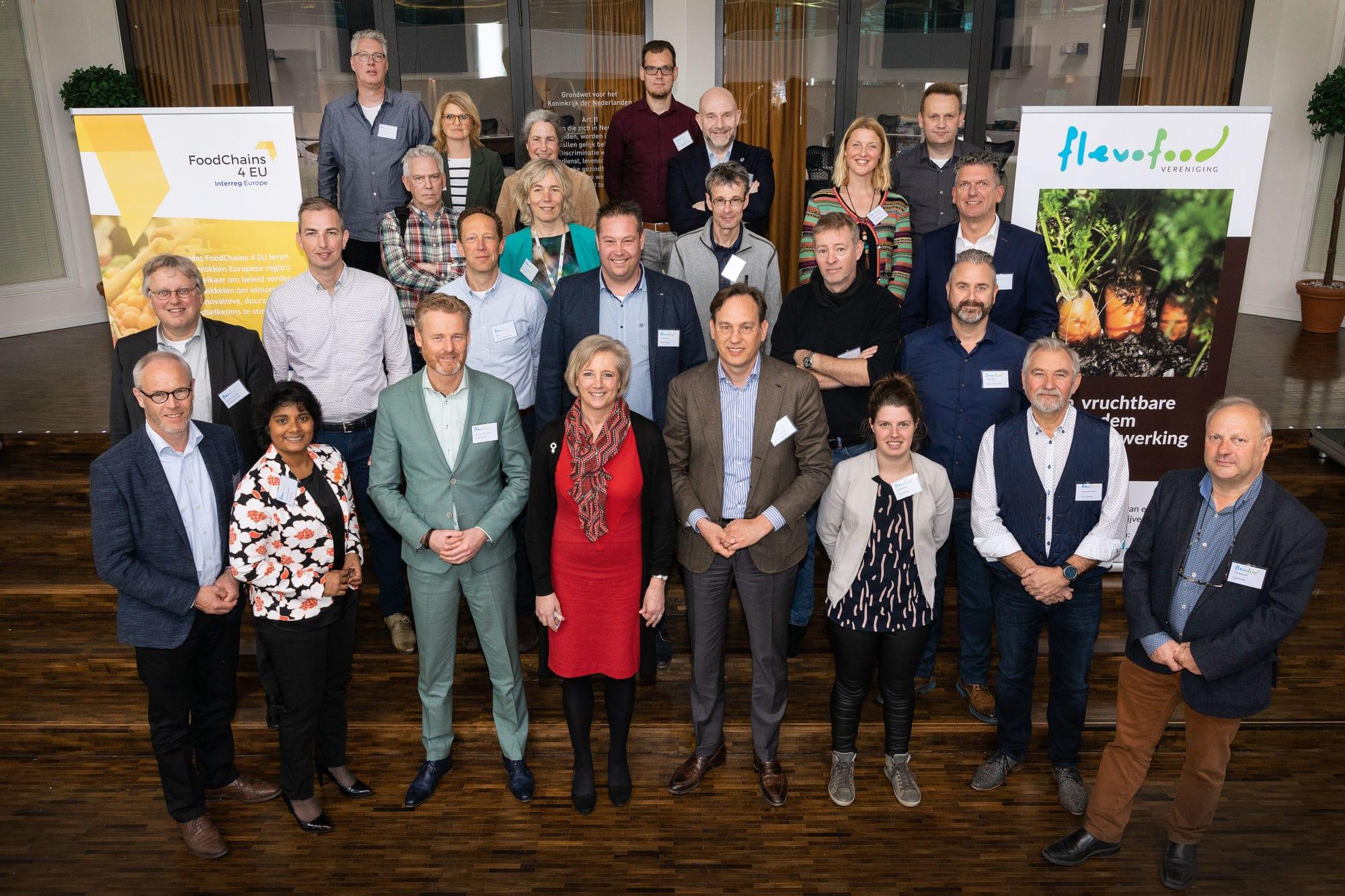 Flevolandse gemeenten en Provincie trekken samen op in realiseren voedselambities met Vereniging Flevofood
