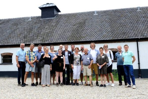Flevofood-leden bij de Veldkeuken in Utrecht