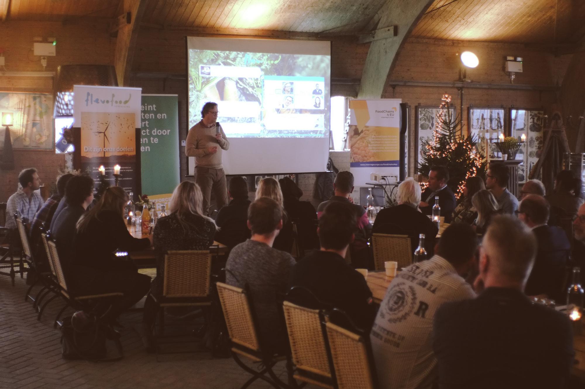 Stakeholdersbijeenkomst van Flevofood bij Boerkok was een succes!