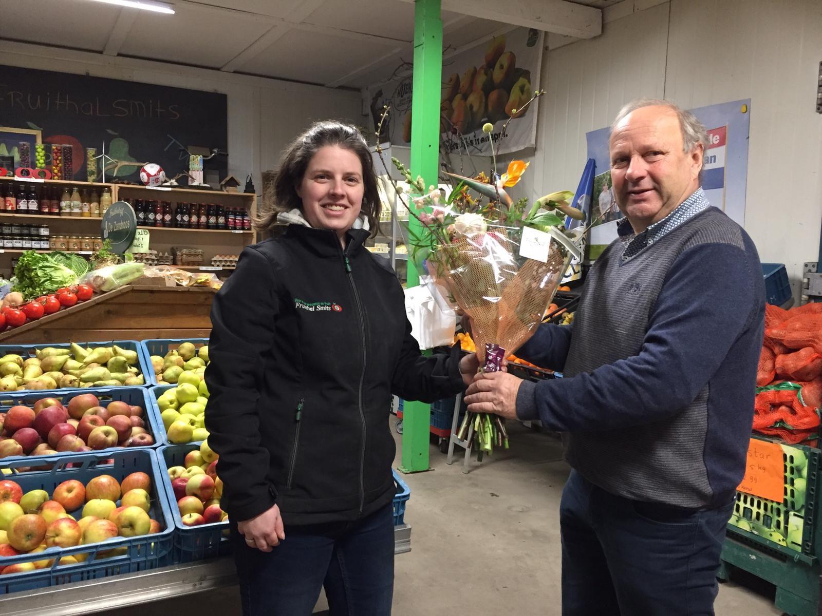 Fruithal Smits ontvangt van Zeewolde Zakelijk de aanmoedigingsprijs 2020!