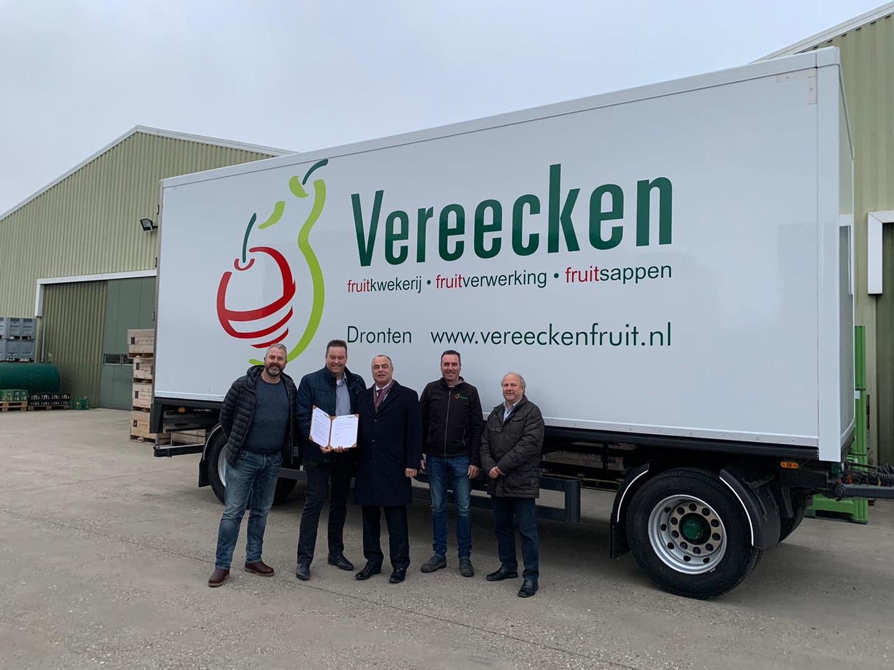 Floriade Expo 2022 en Vereniging FlevoFood tekenen LOI voor promotie Flevolandse voedselproducten